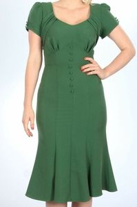 Stop Staring Holly Dress Green